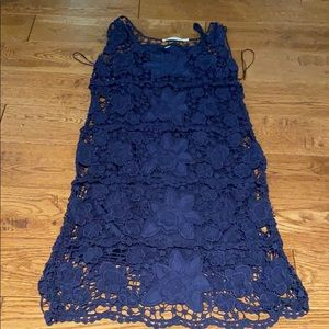 Cute lace dress with slip under